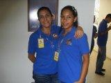Magdalena Frias y Lissette Duran
